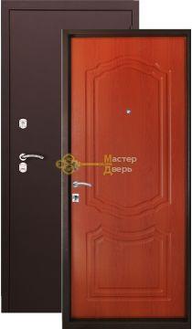 Дверь Argus Lite 22, 2 замка, 1,5 мм металл, (медь антик+итальянский орех)