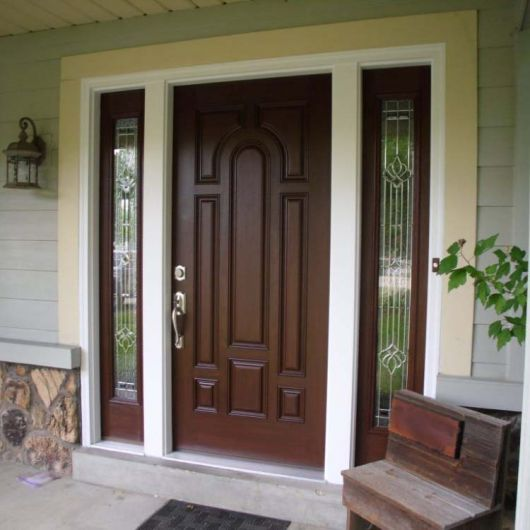 Нужна входная дверь в частный дом?