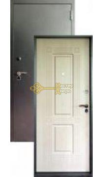 Дверь входная Аргус 7, 2 замка, 1,5 мм металл, (серебро+белёный дуб)