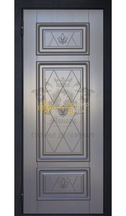 Монарх 2 Ливерпуль графит / Версаль 2, сталь 1,4мм, 2 варианта цвета