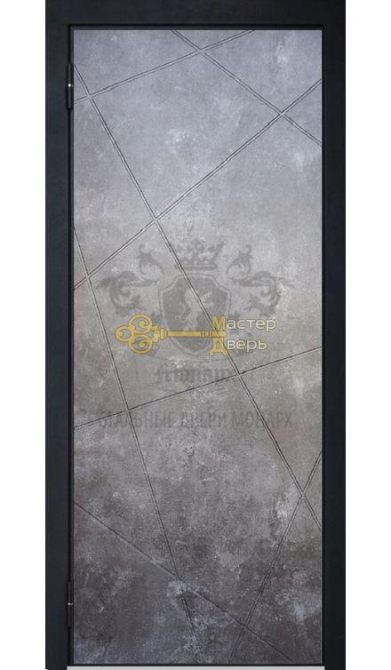 Мерседес 2 бетон / Геометрия белая, сталь 2мм