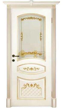Престижио Кариньяно-2, стекло бронза фотопечать, цвет слоновая кость/патина золото, остекленная