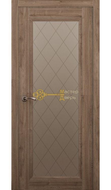 Дверь ALLEGRO 901, сосна крымская, остеклённая
