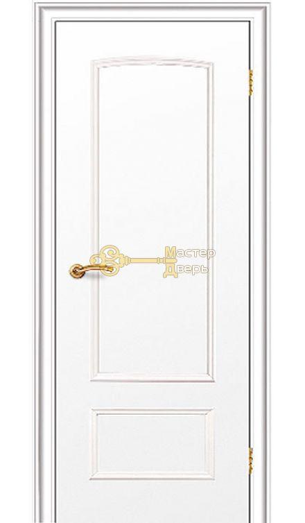 Дверь Краснодеревщик CPL ДГ 201, цвет белый.