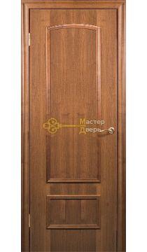 Дверь Краснодеревщик CPL ДГ 201, цвет тёмный орех.
