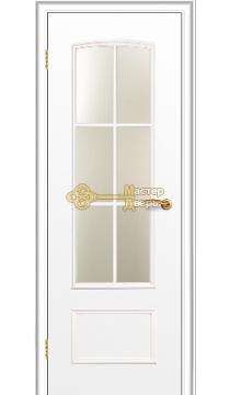 Дверь Краснодеревщик CPL ДО 208, цвет белый.