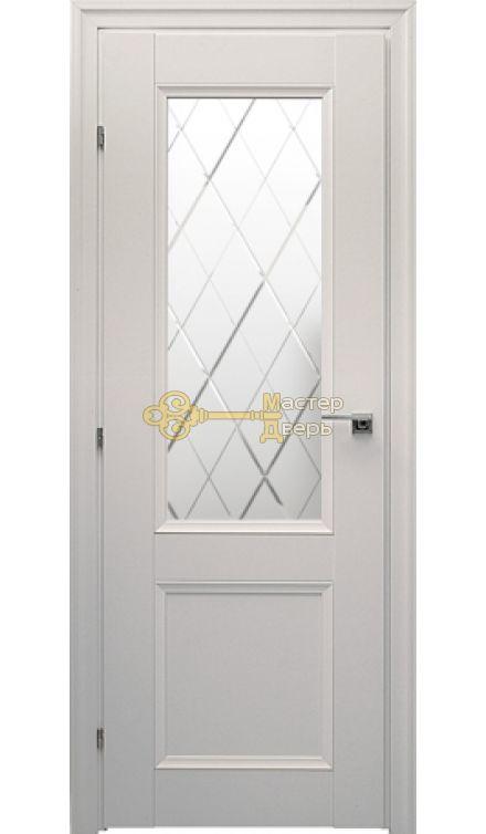 Дверь Краснодеревщик CPL ДО 3324, цвет белый.