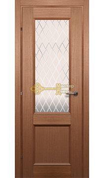 Дверь Краснодеревщик CPL ДО 3324, цвет грецкий орех.