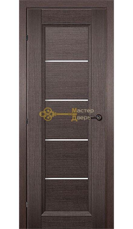 Дверь Краснодеревщик CPL ДО 3352, цвет чёрный дуб.