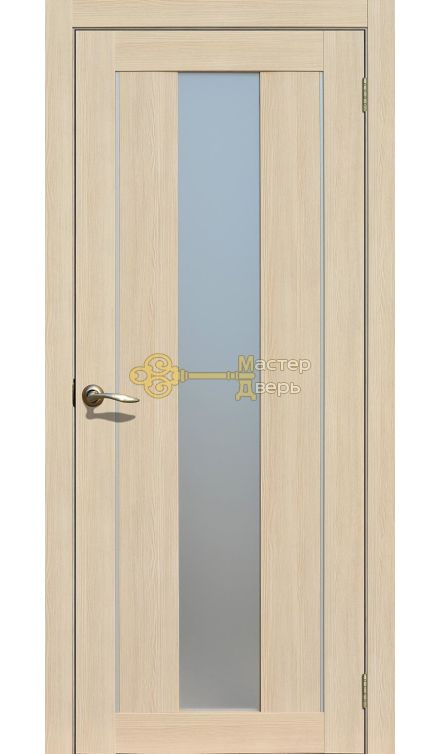 Экошпон La Stella 207. Матовое стекло, ясень латте.