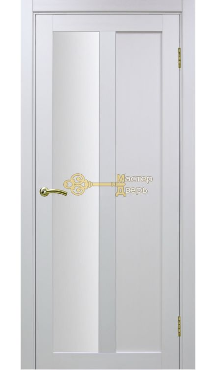 Экошпон, Optima Porte, Турин 521.21, белый монохром.