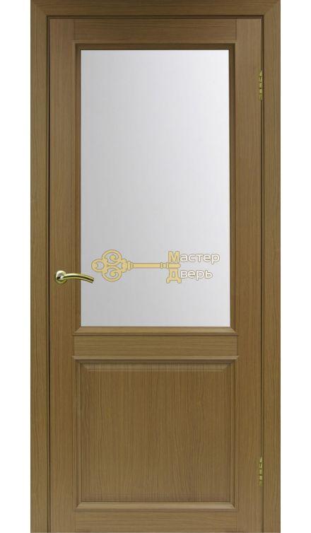 Экошпон, Optima Porte, Тоскана 602.21, орех классический, стекло Мателюкс.