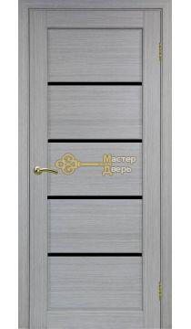 Экошпон, Optima Porte, Сицилия 710.12, дуб серый, стекло Лакобель.