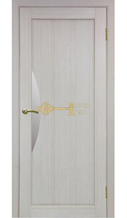 Экошпон, Optima Porte, Сицилия 723.21, белёный дуб,стекло Мателюкс.