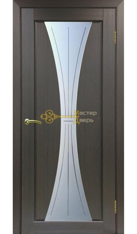 Экошпон, Optima Porte, Сицилия 732, венге, стекло Мателюкс.