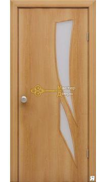 Дверь ламинированная Стрелиция С-2, миланский орех.