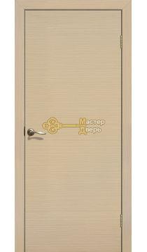 Дверь ламинированная ДПГ, белёный дуб.
