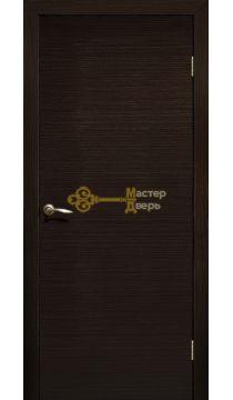 Дверь ламинированная ДПГ, венге.