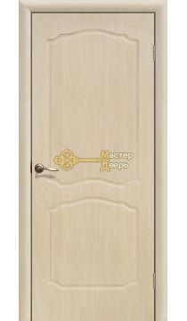 Дверь ПВХ Классика ПГ, белёный дуб.