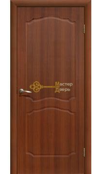 Дверь ПВХ Классика ПГ, итальянский орех.