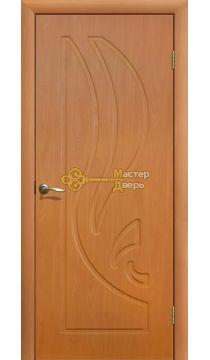Дверь ПВХ Лилия ПГ, миланский орех.