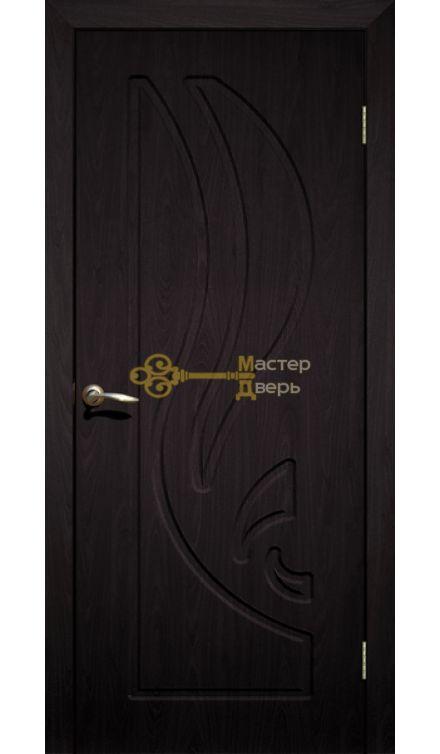 Дверь ПВХ Лилия ПГ, венге.