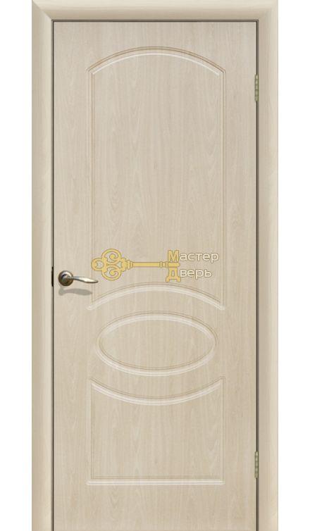 Дверь ПВХ Неаполь ПГ, белёный дуб.