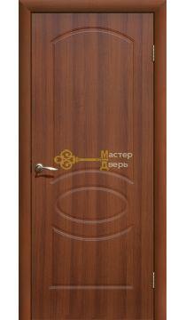 Дверь ПВХ Неаполь ПГ, итальянский орех.