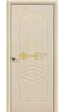 Дверь ПВХ Венеция ПГ, белёный дуб.