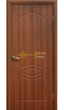 Дверь ПВХ Венеция ПГ, итальянский орех.