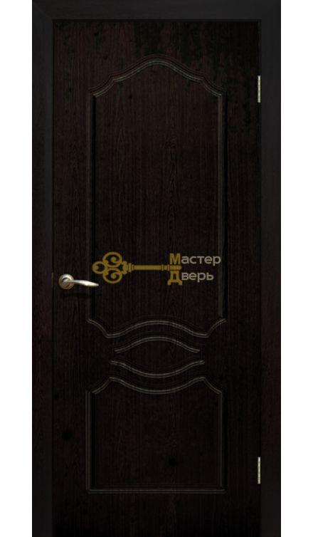 Дверь ПВХ Венеция ПГ, венге.