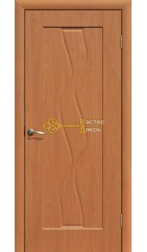 Дверь ПВХ Водопад ПГ, миланский орех.
