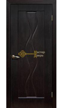 Дверь ПВХ Водопад ПГ, венге.