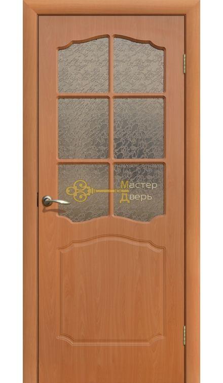 Дверь ПВХ Классика ПО, миланский орех.