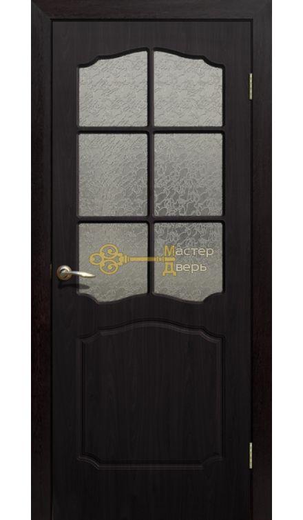 Дверь ПВХ Классика ПО, венге.