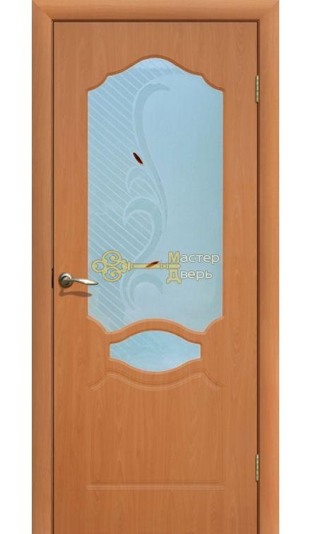 Дверь ПВХ Венеция П0, миланский орех.