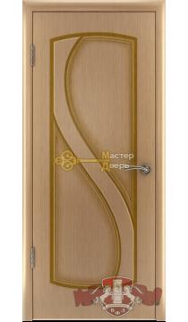 Владимирская фабрика дверей Грация 10ДГ1. Цвет светлый дуб, глухая.