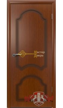 Владимирская фабрика дверей Кристалл 3ДГ2. Цвет макоре, глухая.