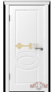 Владимирская фабрика дверей Оксфорд 29ДГ0. Цвет белая эмаль, глухая.