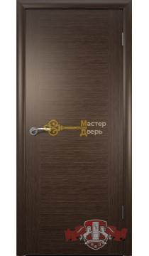 Владимирская фабрика дверей Рондо 8ДГ4. Венге, глухая.