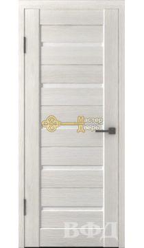 Владимирская фабрика дверей Лайн-1 Л1ПГ5.Стекло белое, цвет беленый дуб.