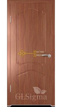 Дверь GreenLine Sigma-31. Итальянский орех, глухая.