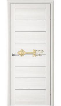 Дверь TrendDoors TDT-1 стекло белое, цвет лиственница белая.