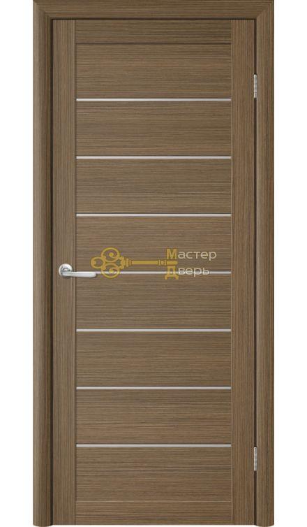 Дверь TrendDoors TDT-1 стекло белое, цвет тик.