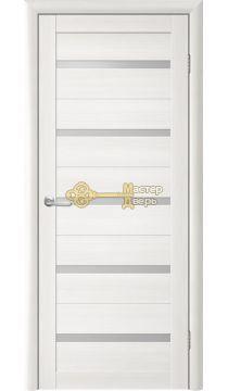 Дверь TrendDoors TDT-2 стекло белое, цвет лиственница белая.