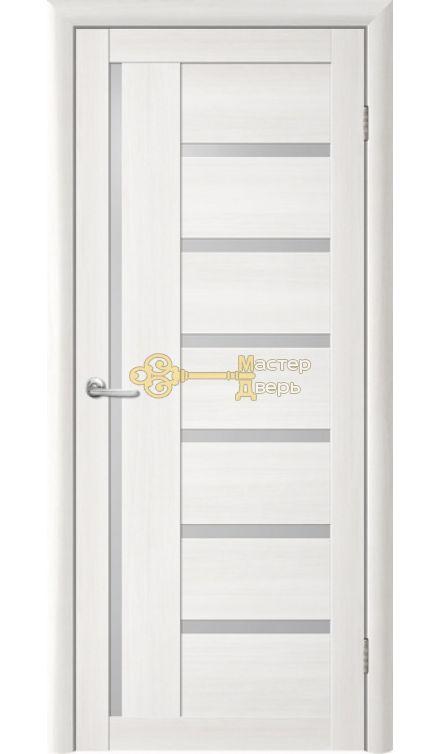 Дверь TrendDoors TDT-3 стекло белое, цвет лиственница белая.