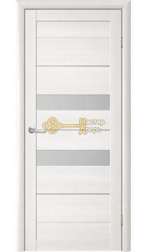 Дверь TrendDoors TDT-4 стекло белое, цвет лиственница белая.