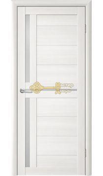 Дверь TrendDoors TDT-5 стекло белое, цвет лиственница белая.