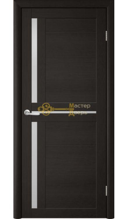 Дверь TrendDoors TDT-5 стекло белое, цвет лиственница тёмная.