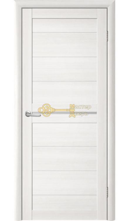 Дверь TrendDoors TDT-6 стекло белое, цвет лиственница белая.